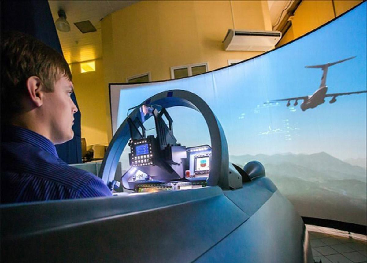 儋州安全体验实感模拟飞行器