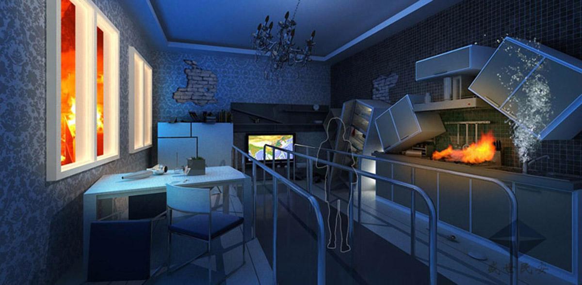 绵阳安全体验VR虚拟现实地震小屋