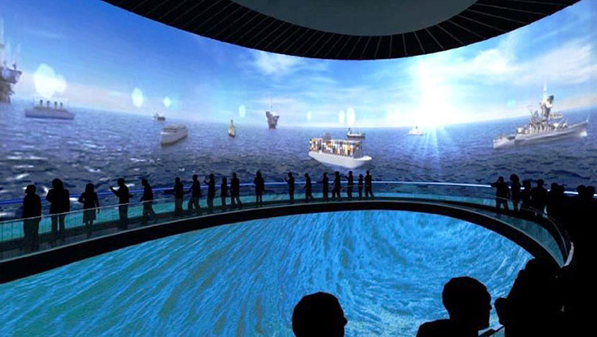 滦县安全体验360度碗幕影院