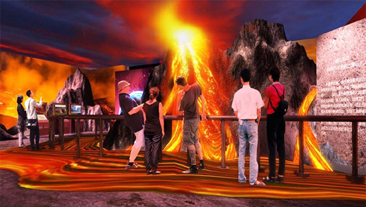旺苍安全体验火山探险体验