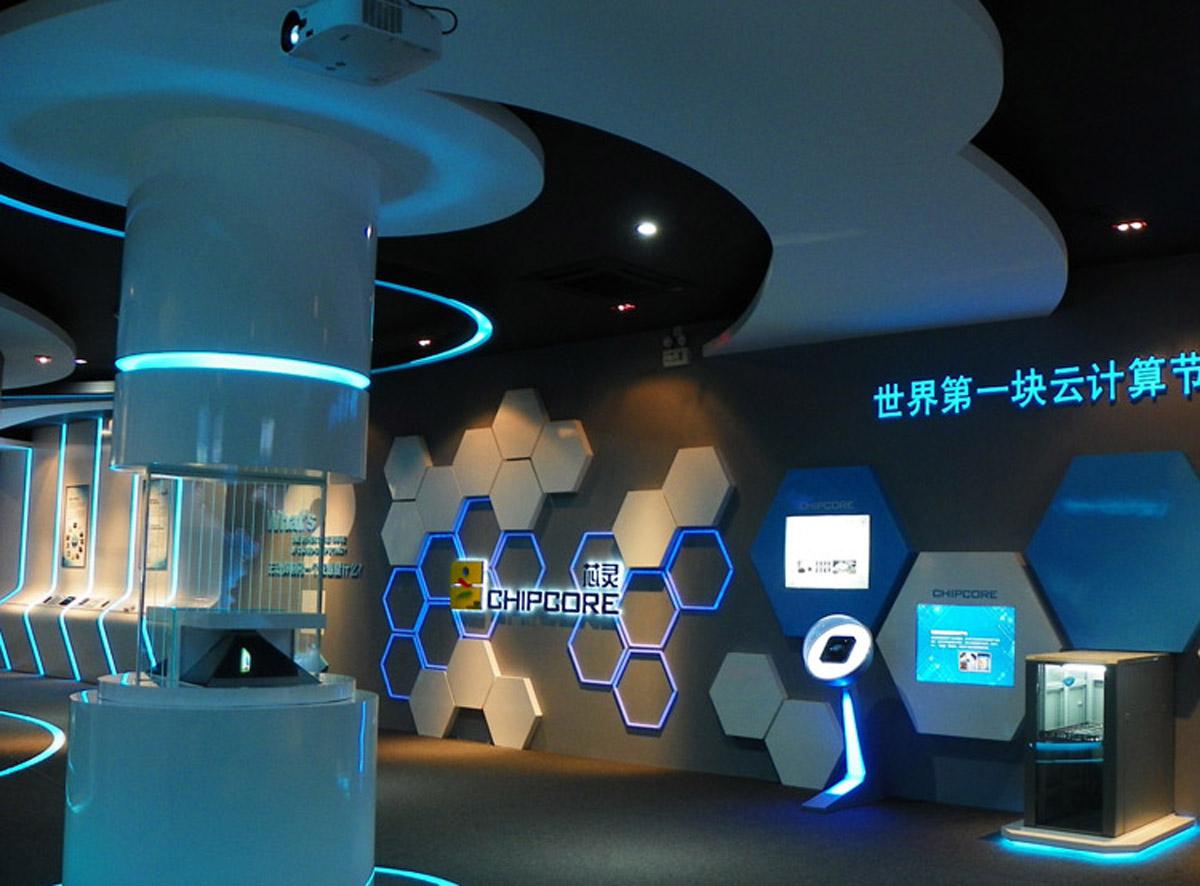 广阳安全体验360度全息成像技术