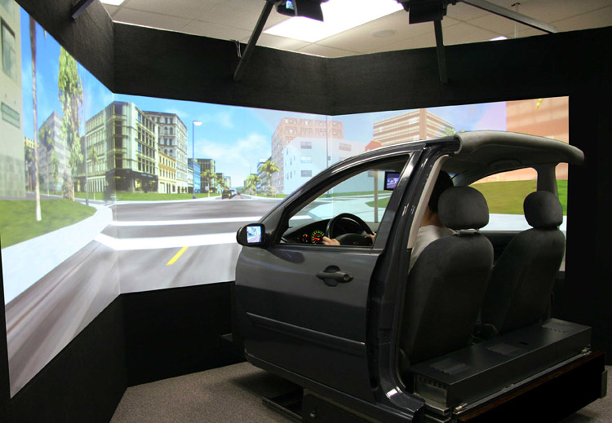 剑阁安全体验VR虚拟驾驶