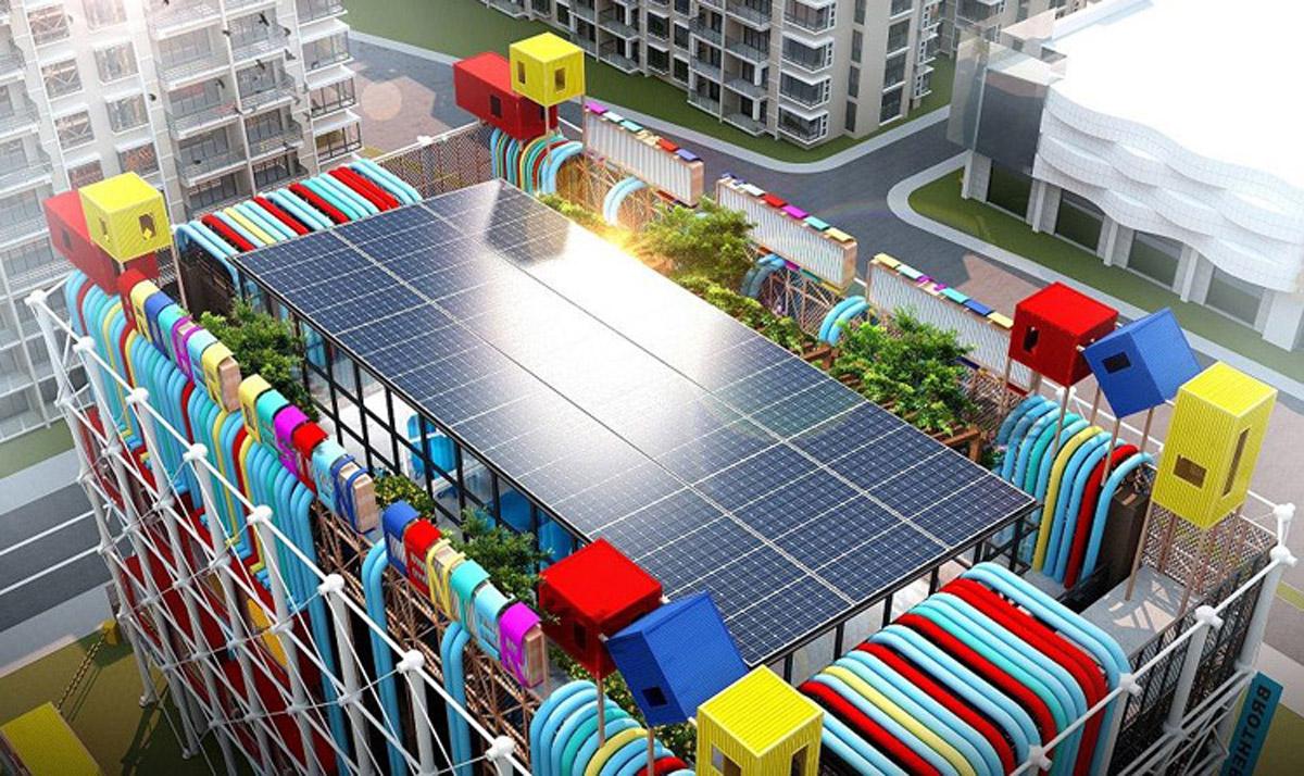 雁江安全体验太阳能光伏发电体验