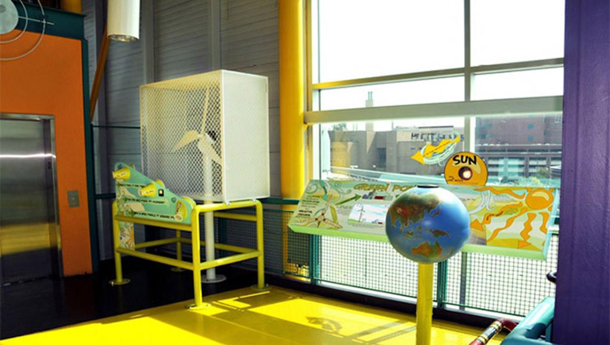 海南安全体验机电互动装置