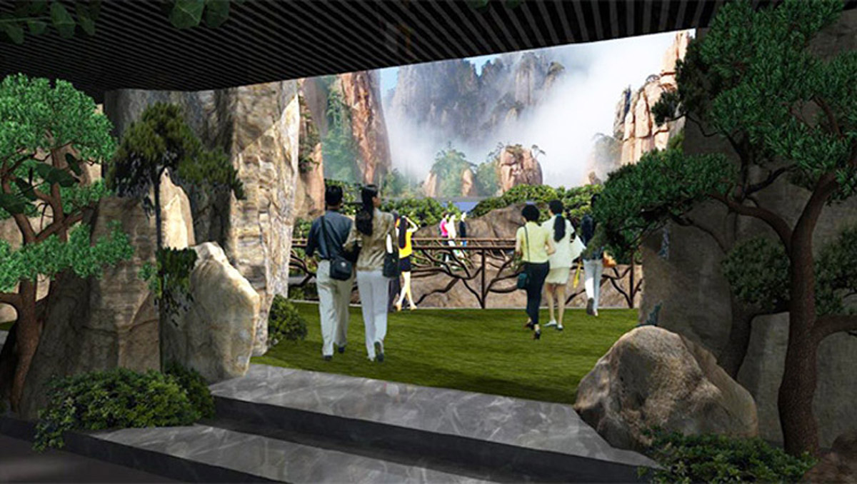 黑龙江安全体验虚拟实景投影