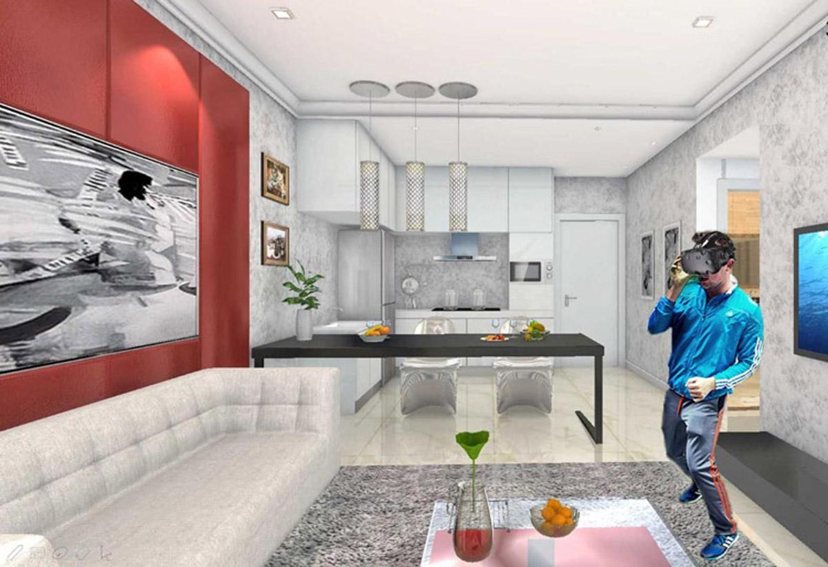 安全体验VR虚拟看房