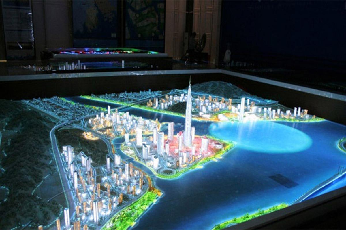 蓬溪安全体验互动投影沙盘