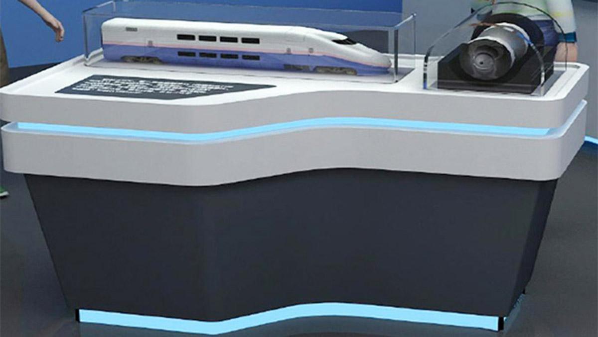 新龙安全体验磁悬浮列车