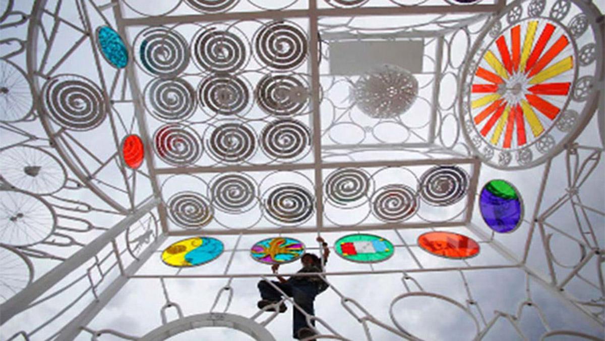 平陆安全体验创意艺术装置