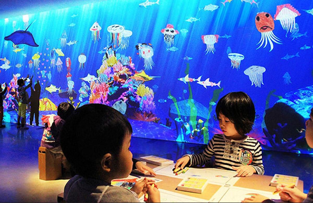 九龙安全体验画画水族馆
