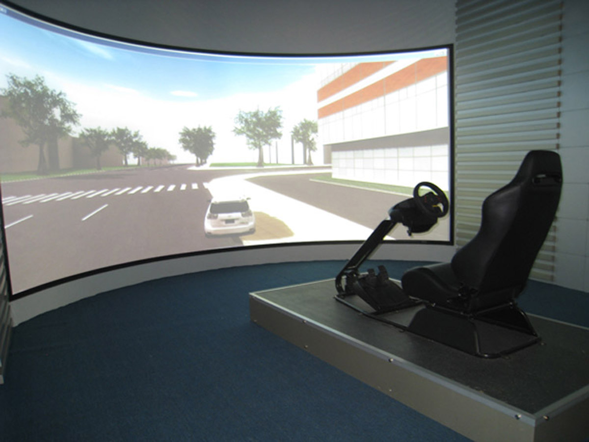 繁峙安全体验虚拟驾驶