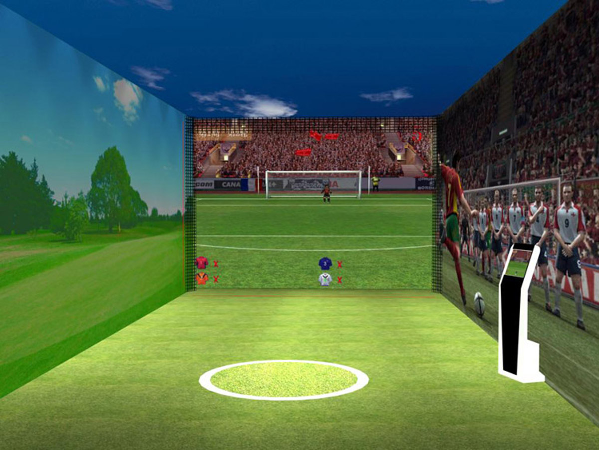 平谷安全体验虚拟足球