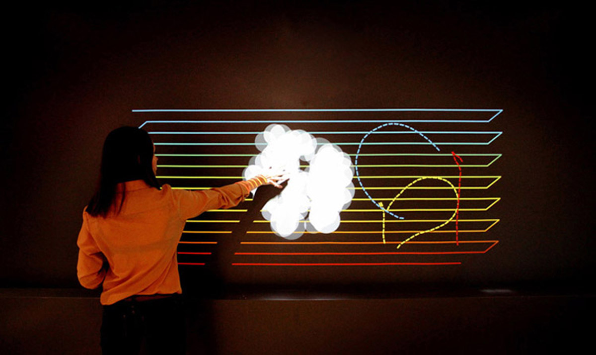 阳曲安全体验互动音乐墙