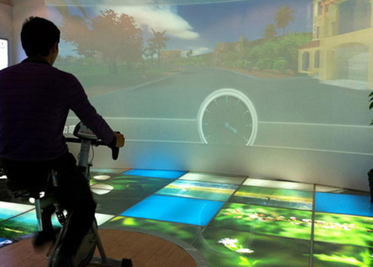 黑水安全体验虚拟自行车系统