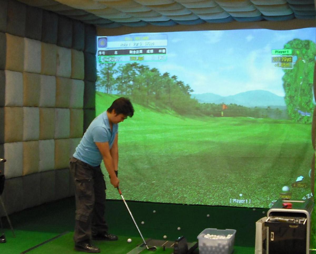 山海关安全体验模拟高尔夫