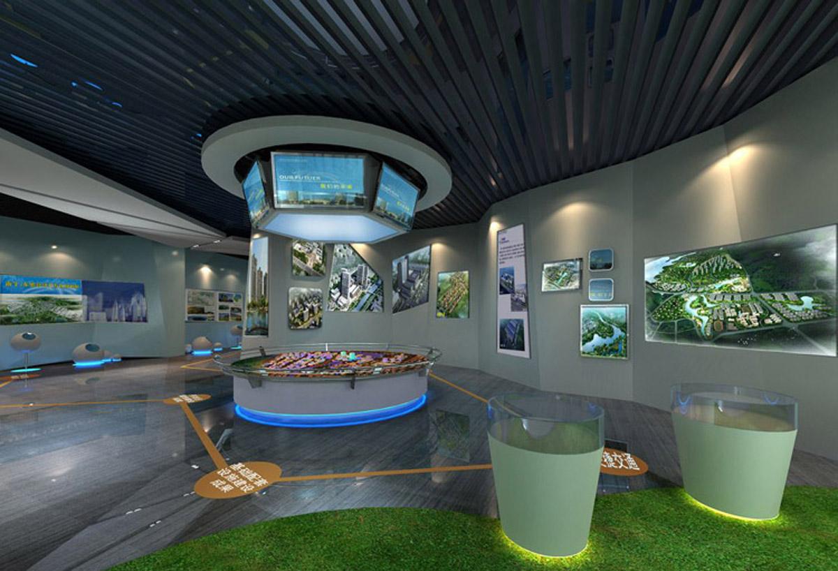 自贡安全体验城市规划展厅
