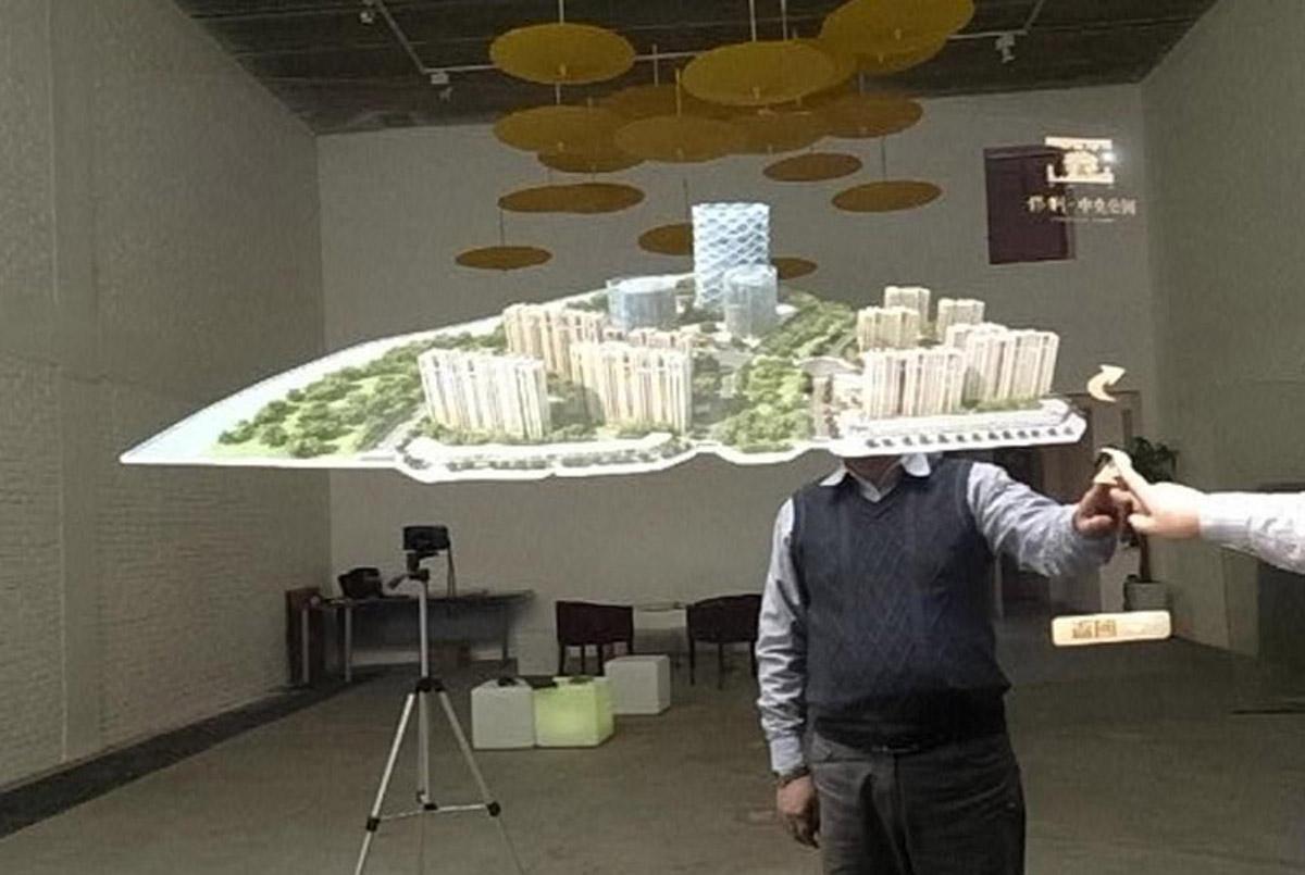 忻州安全体验360°全息成像系统