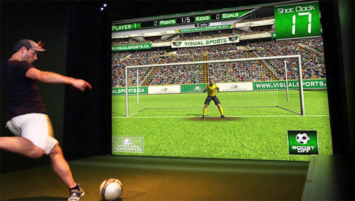 陵川安全体验虚拟足球体验