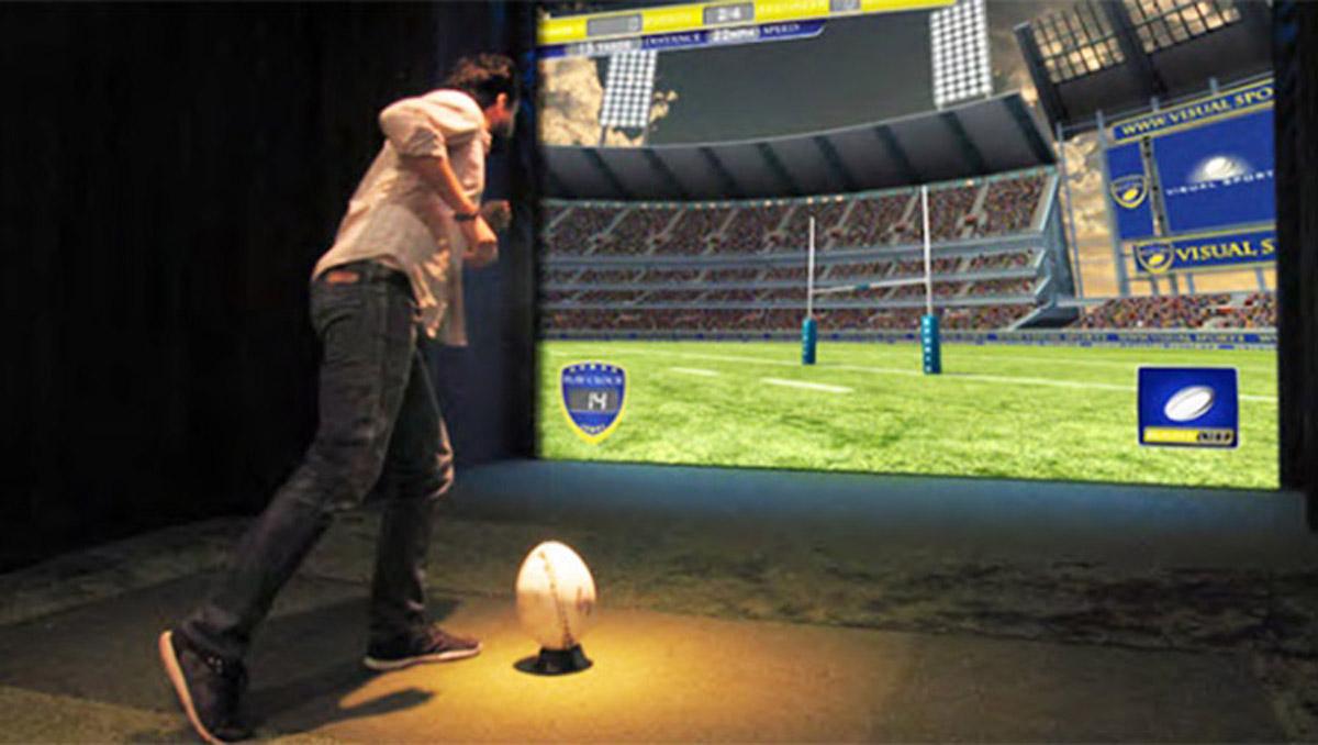行唐安全体验虚拟英式橄榄球体验