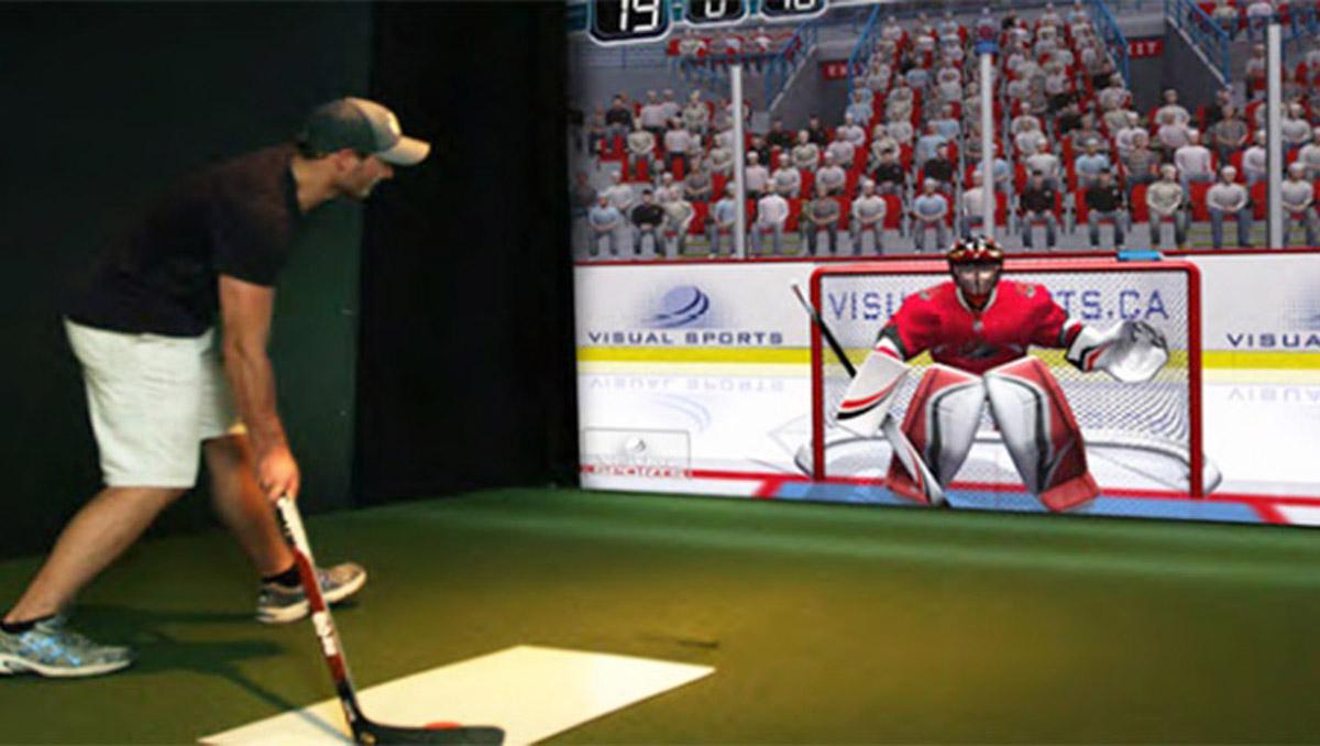 城口安全体验虚拟曲棍球体验
