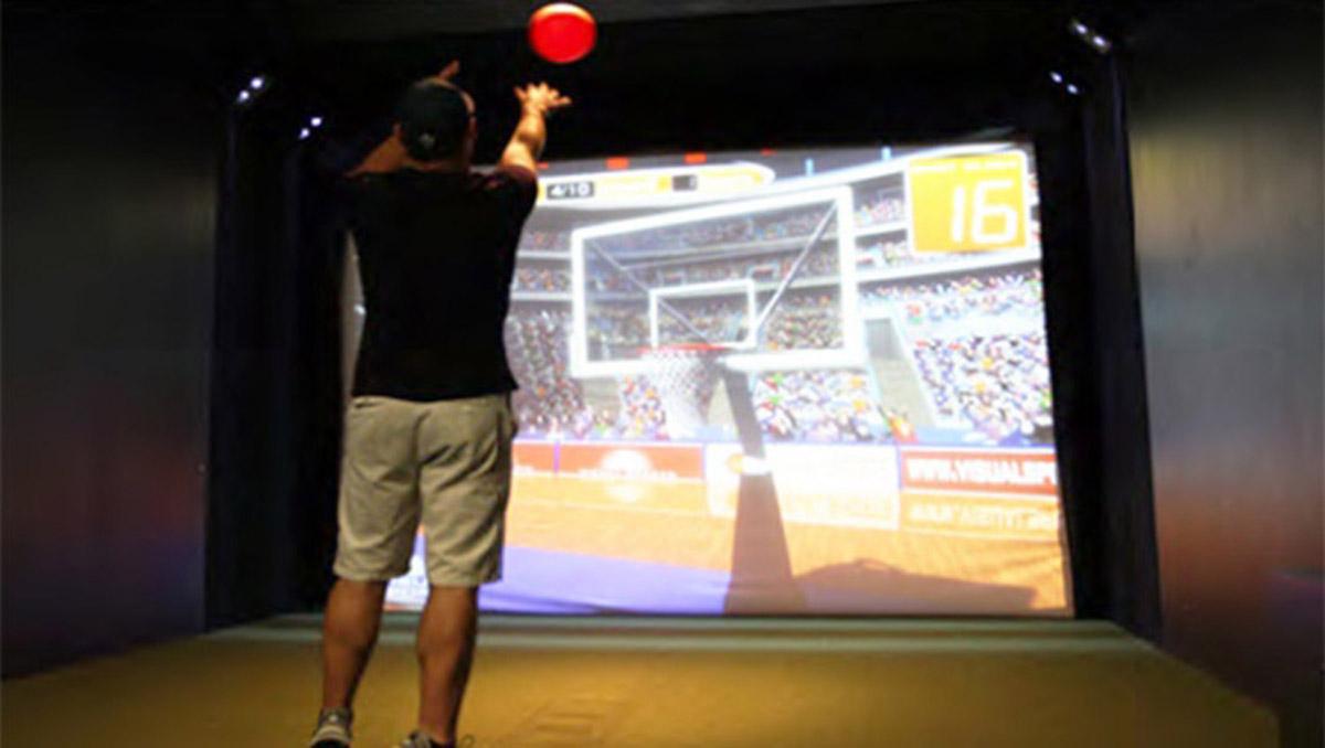陵川安全体验虚拟篮球体验
