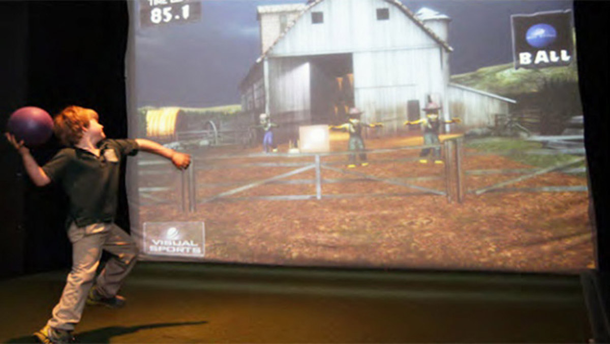 安全体验虚拟僵尸闪避球体验