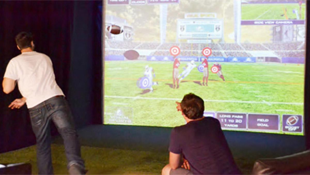 安全体验虚拟橄榄球挑战赛