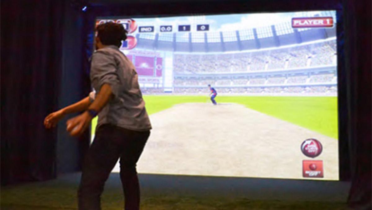 安全体验虚拟板球VR体验