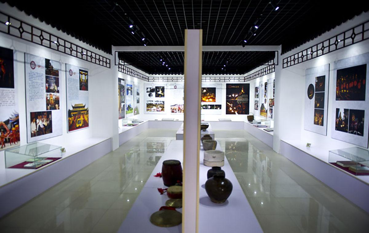 赵县文化遗产展厅