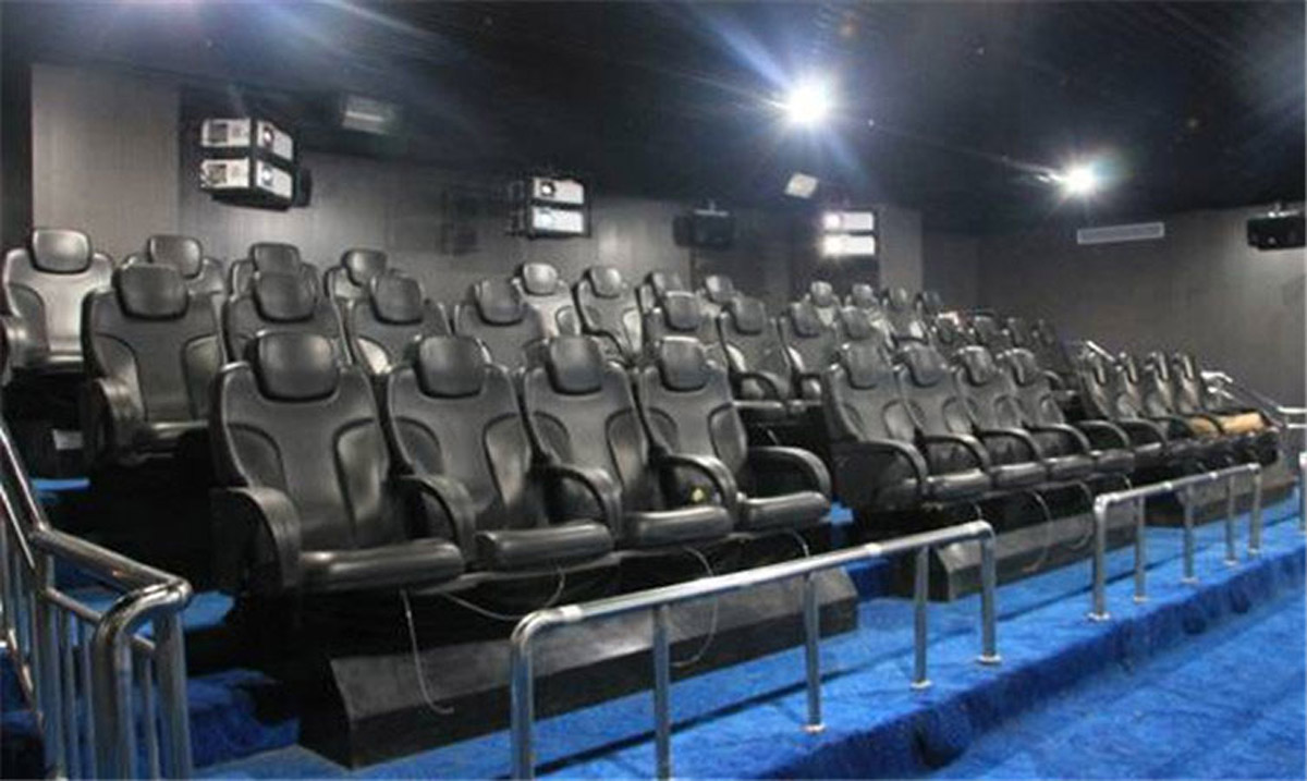 高平安全体验规划馆4D影院