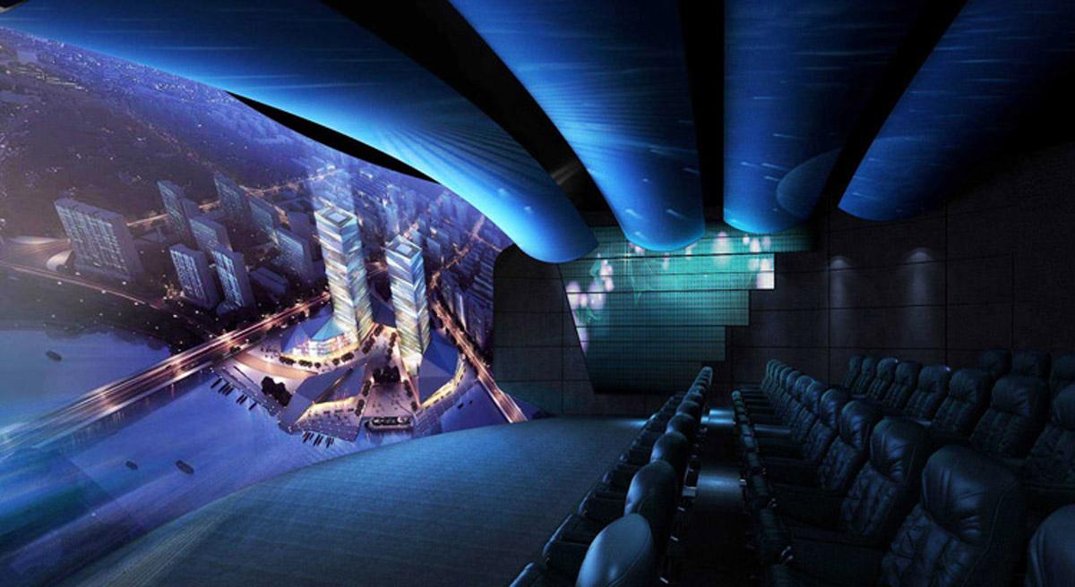 高平安全体验动感4D影院