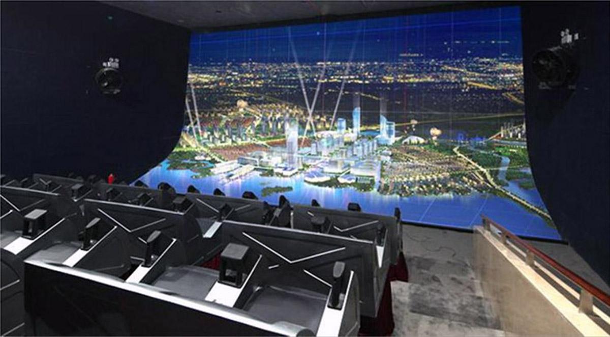 高平安全体验4D动感影院搭建
