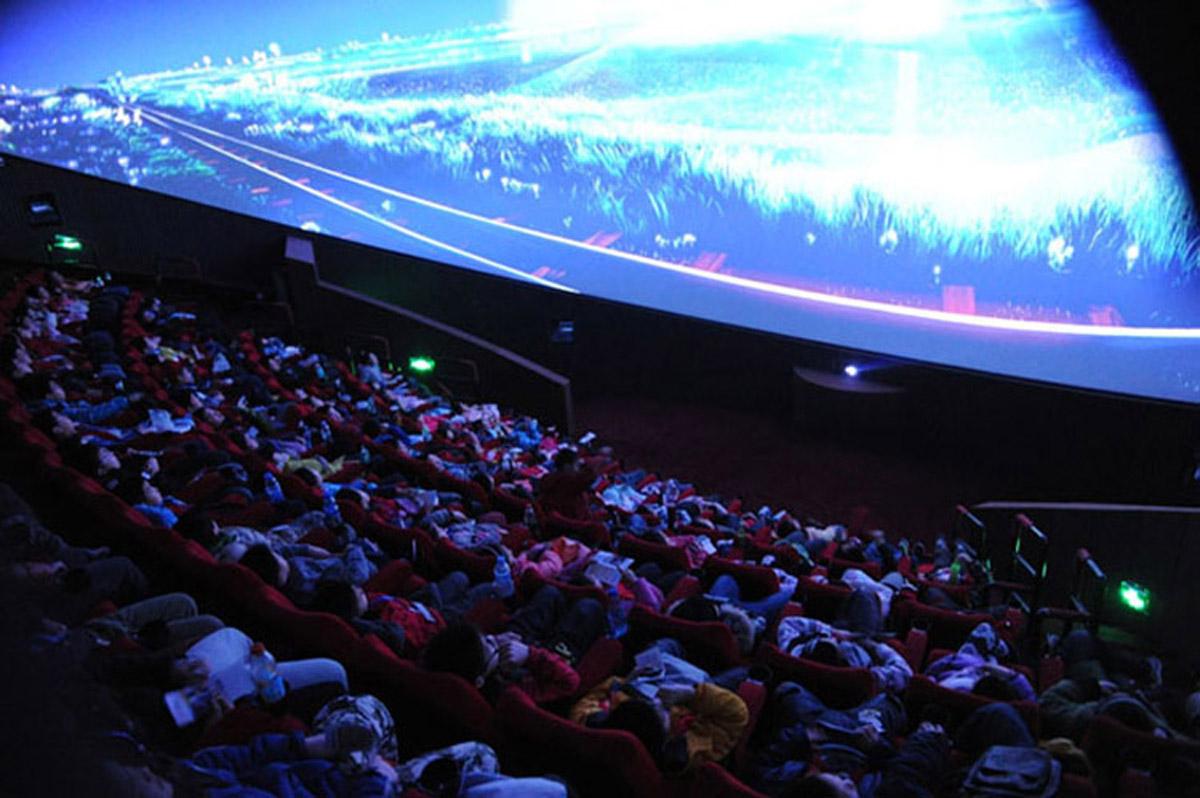 安全体验超大型5D球幕影院