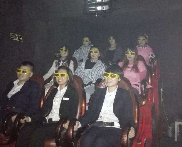 高平安全体验小型5D影院