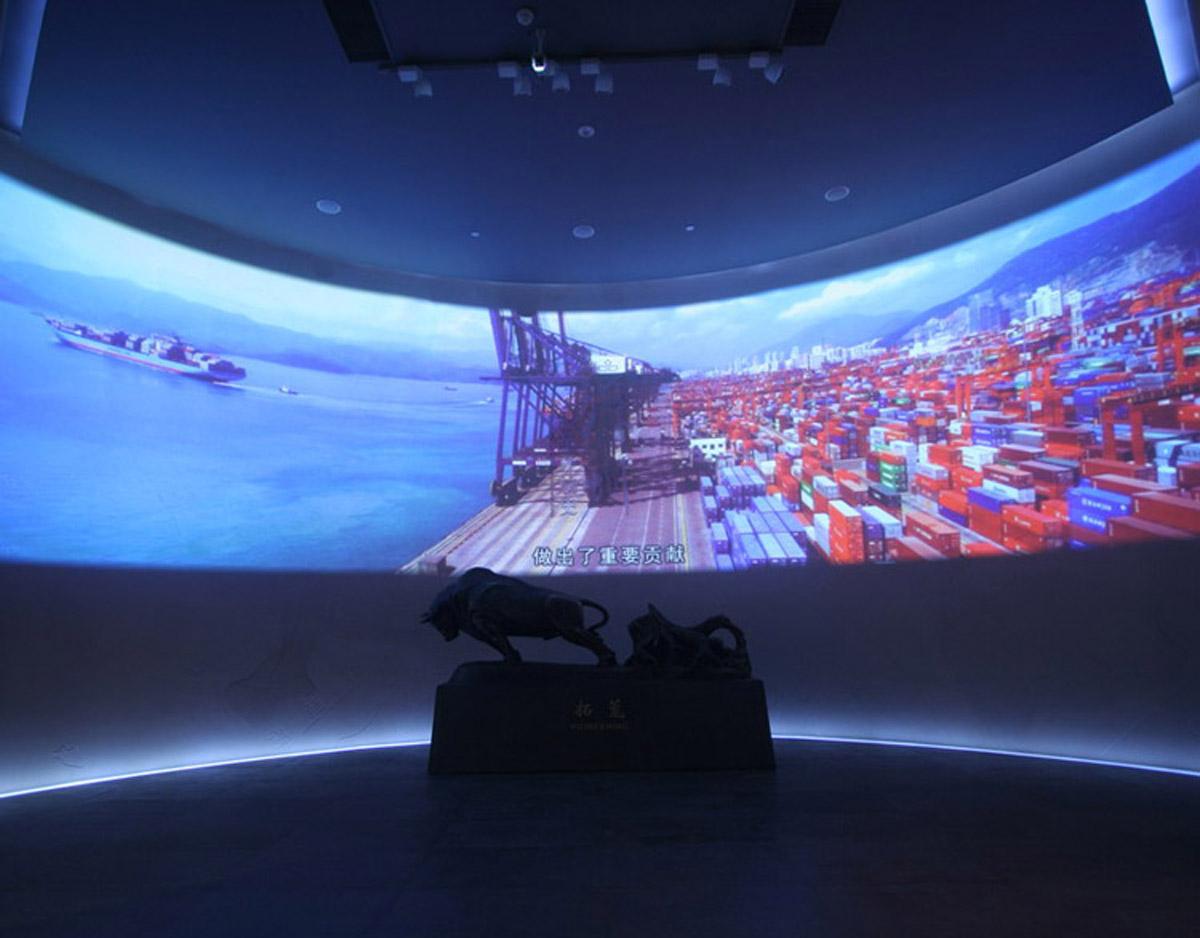 平遥安全体验环幕VR系统