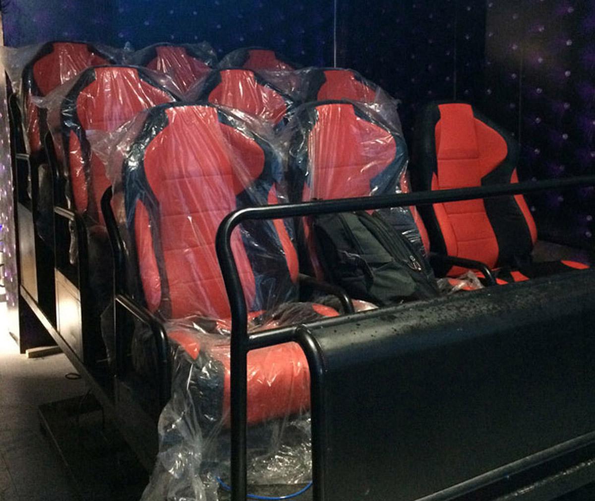 綦江安全体验六自由度4D动感座椅