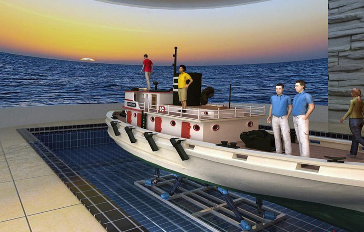 顺义安全体验水下六自由度平台