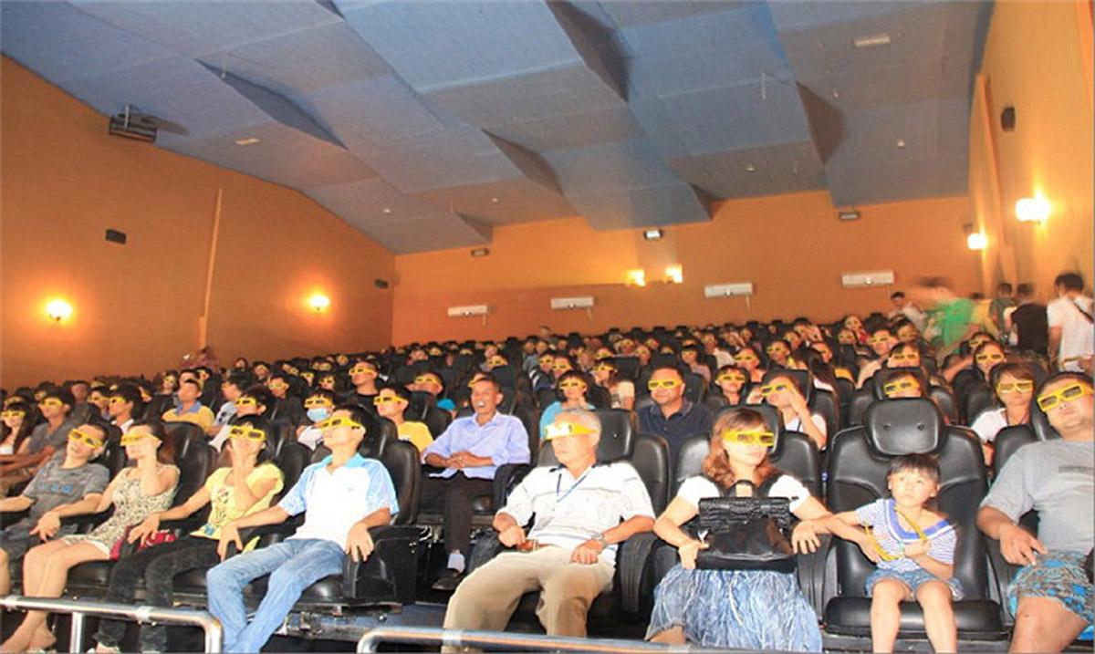 西充安全体验300座动感影院