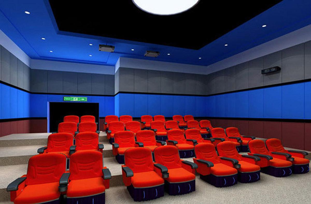 新津安全体验32座4D动感影院