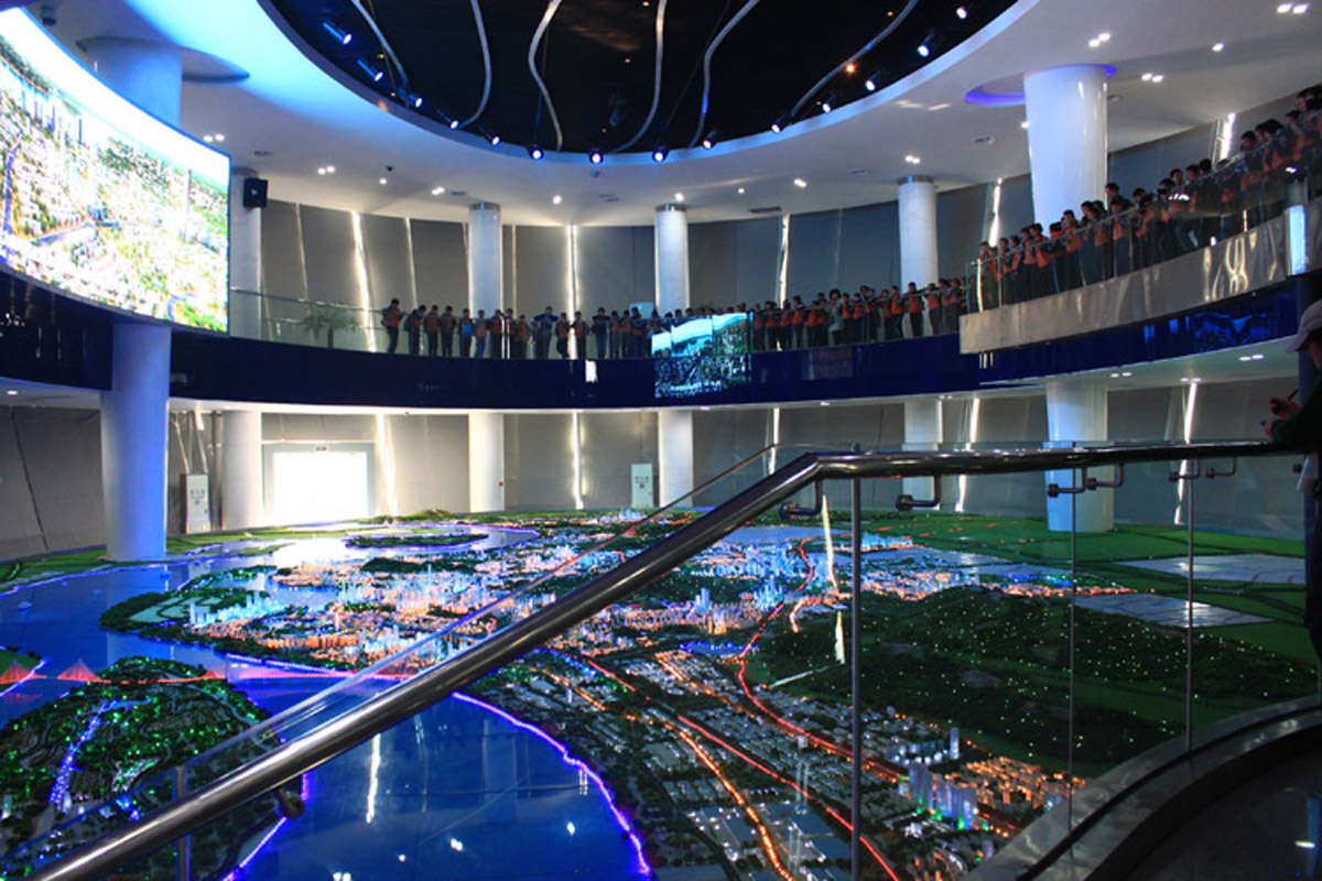 达川安全体验产品演示中心