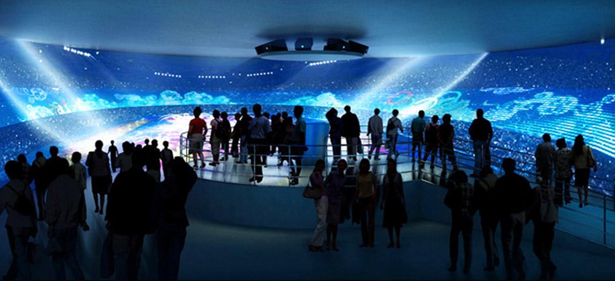 盐边安全体验360°环幕影院