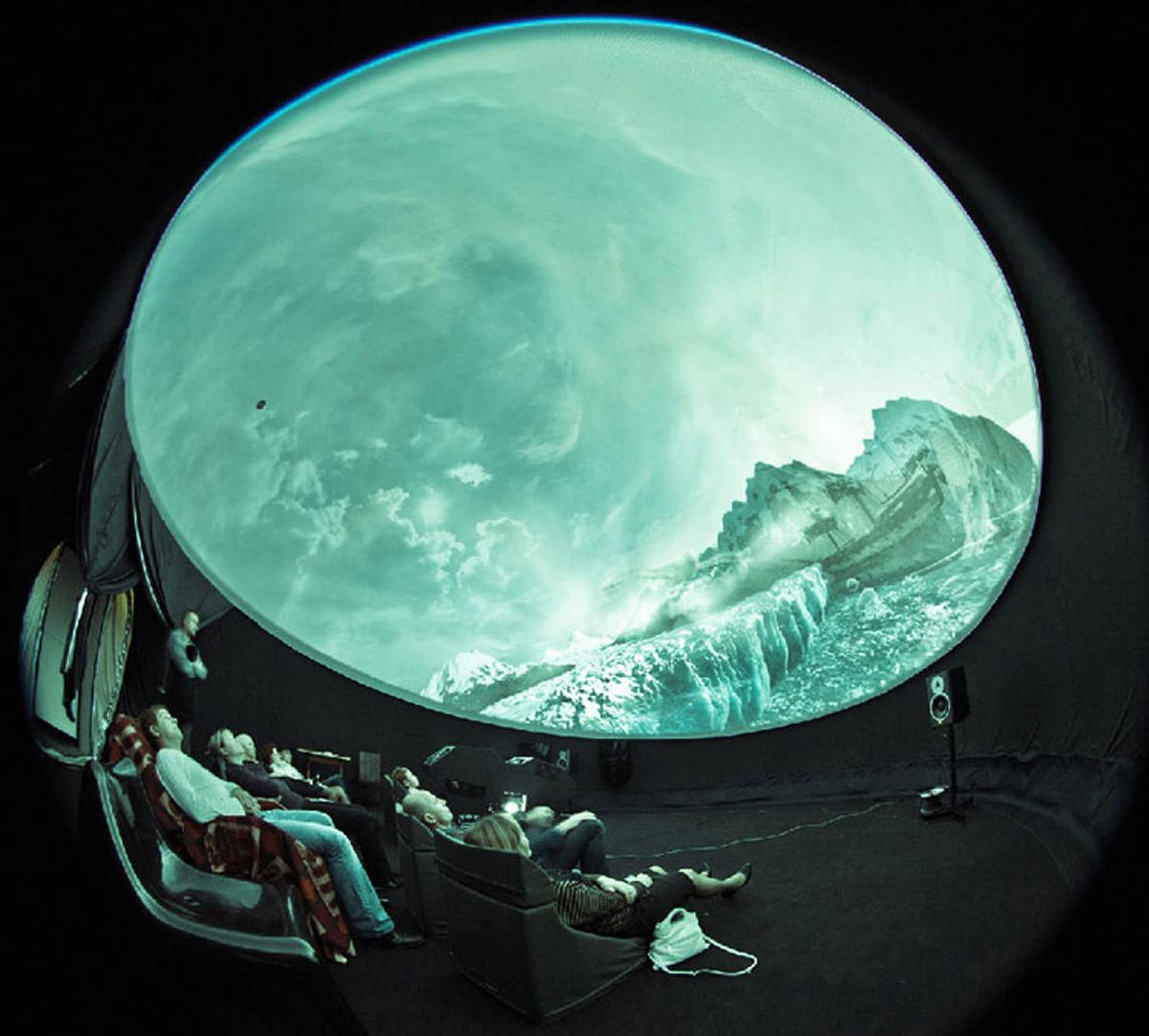 忻州安全体验移动式球幕影院