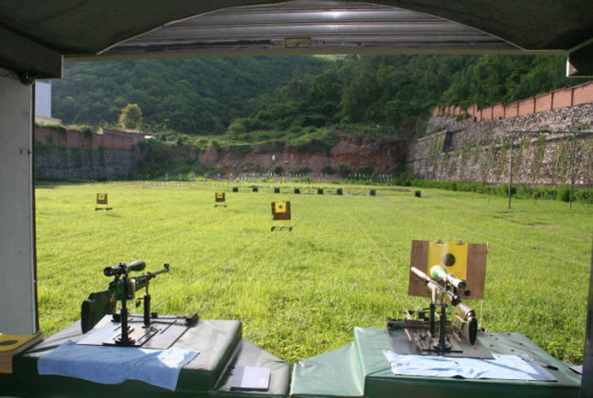 剑阁安全体验射击靶场