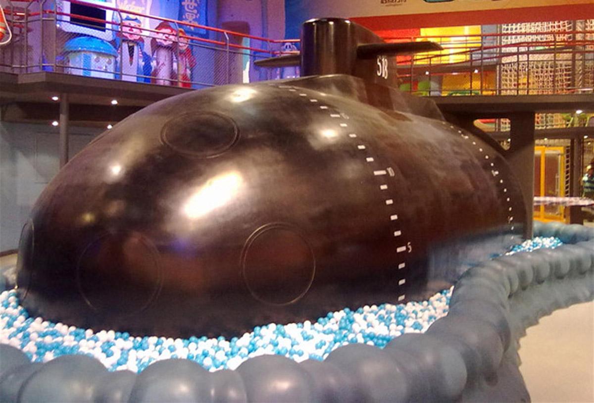 奉贤安全体验潜水艇核潜艇模拟