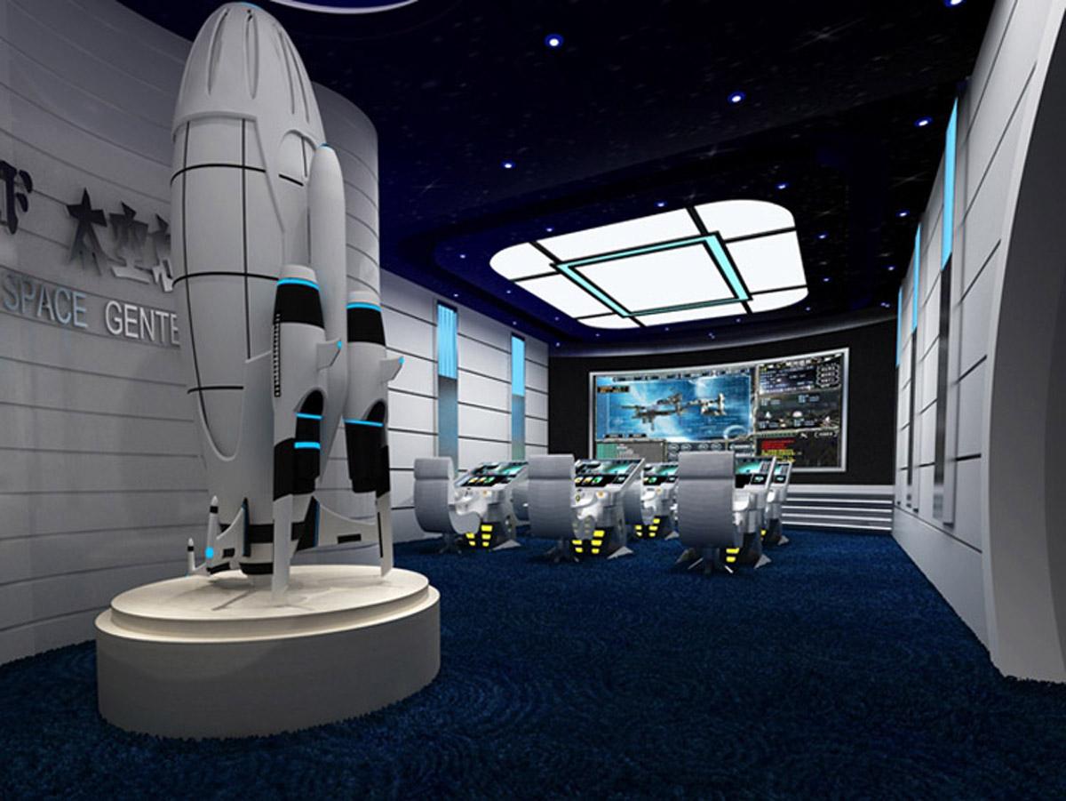 峨眉山安全体验太空宇航中心体验