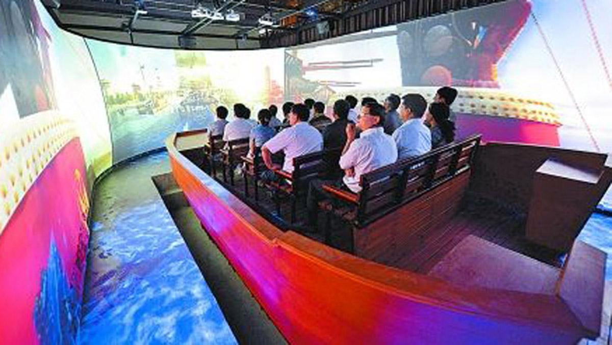 宽城安全体验虚拟航行