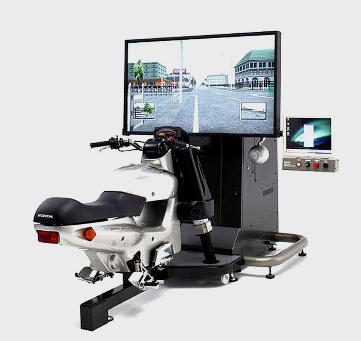 安全体验虚拟摩托