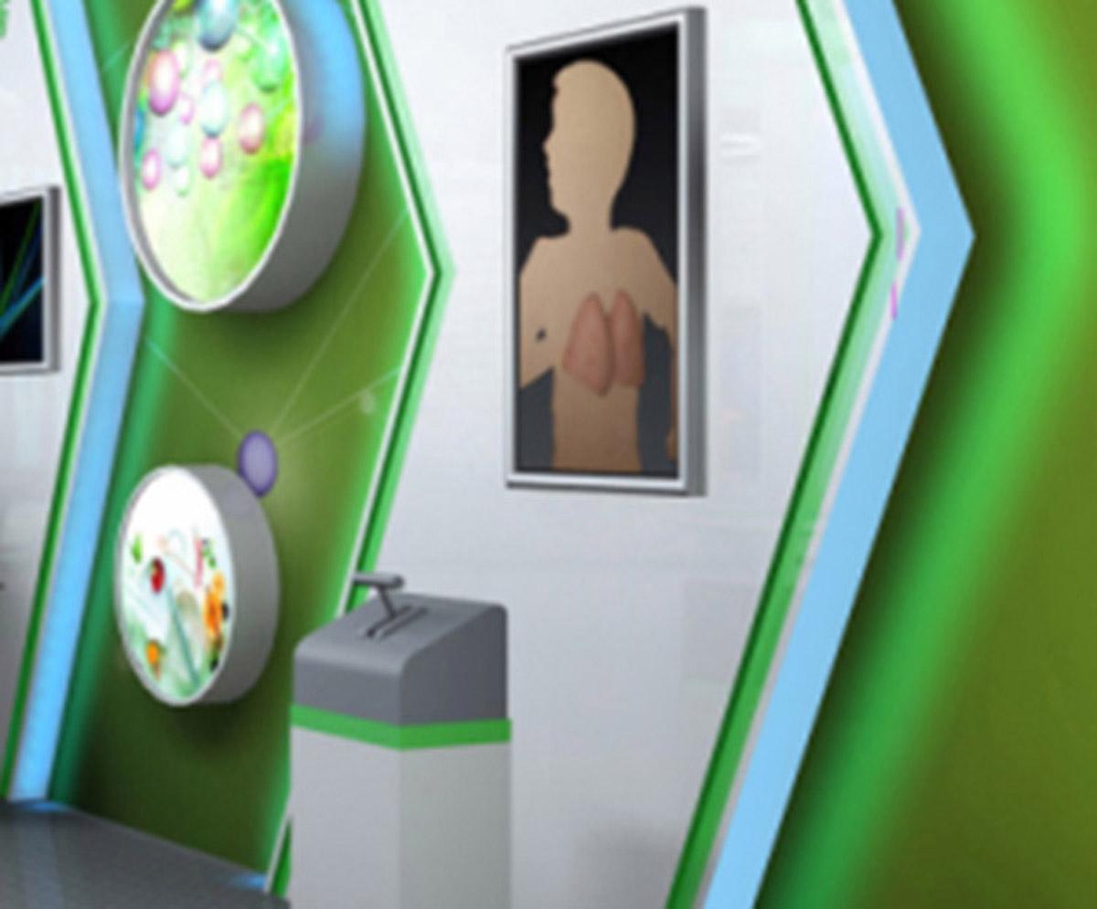 九龙安全体验吸烟与健康展示设备
