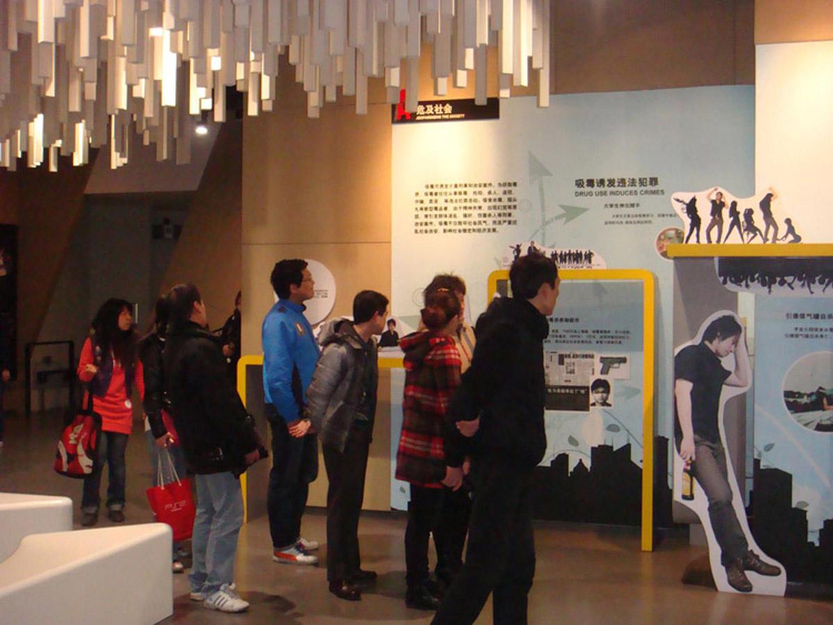 石渠安全体验禁毒展览馆互动体验