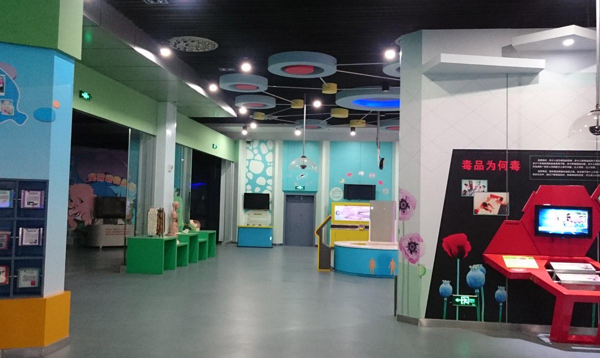 沁县安全体验禁毒模型(吸毒前后器官)